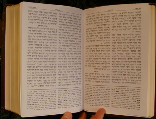 First Hebrew Cross Reference Bible